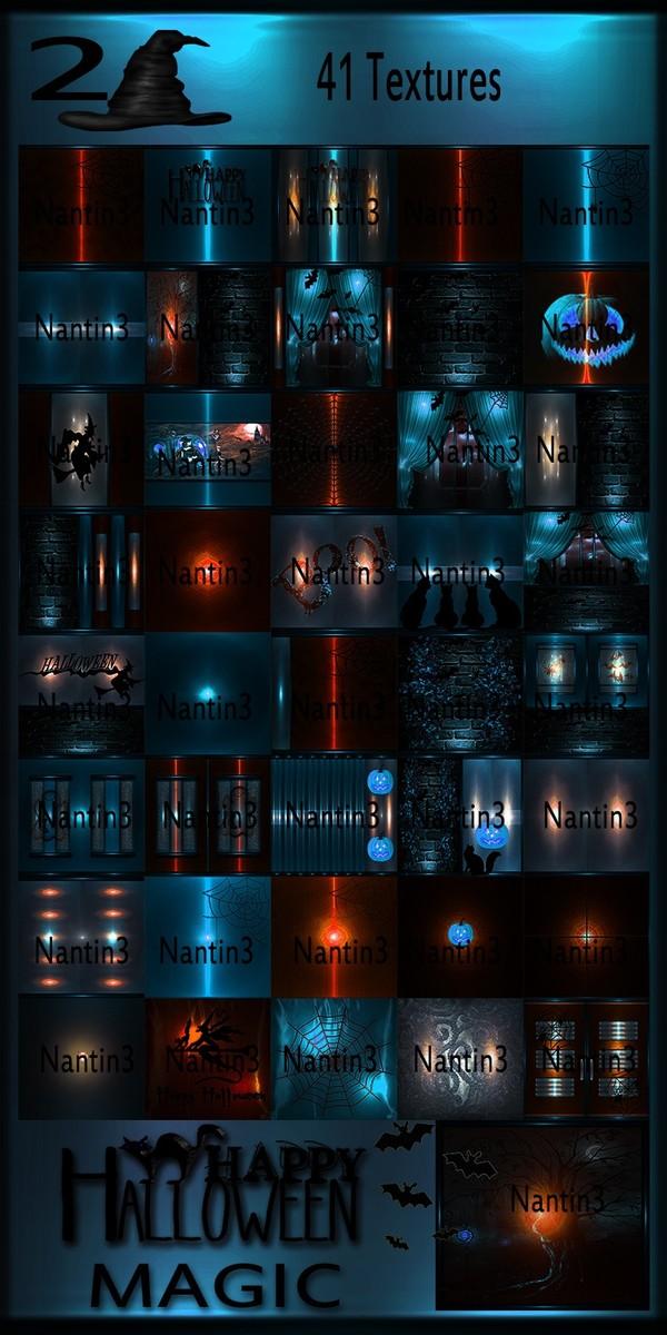 HALLOWEEN MAGIC 2 FILES 41Textures 256x256jpg