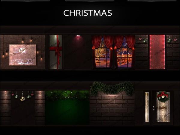 CHRISTMAS FILES 40Textures 256x256jpg