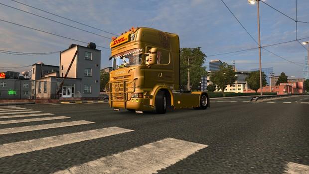 Scania R620 DHL