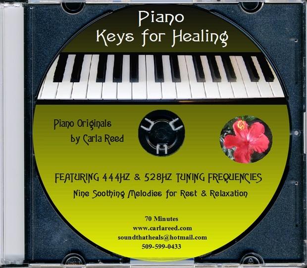 Piano Key for Healing