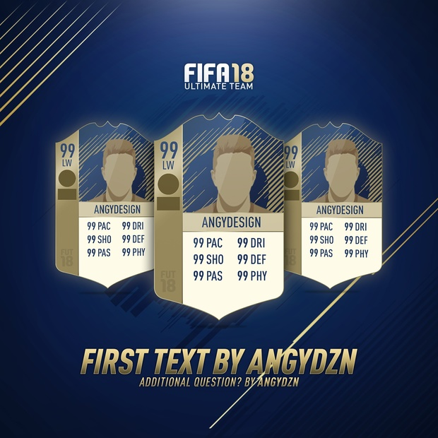 FIFA 18 Background pack (PSD) (5 backgrounds)