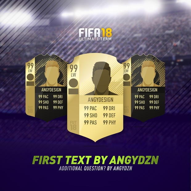 FIFA 18 Background pack V2 (PSD) (2 backgrounds)