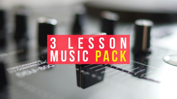 3 Lesson Music Pack