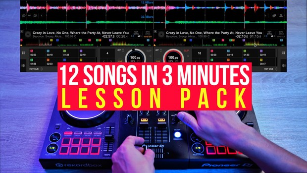 MixWithMe#6 Complete Lesson Pack w/ Songs