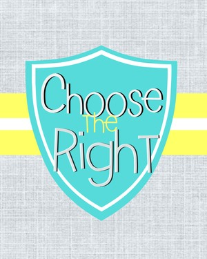 Choose the Right Yellow/Blue
