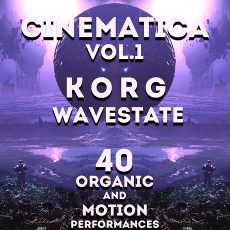 "Korg Wavestate - ""Cinematica Vol.1""  40 performances"