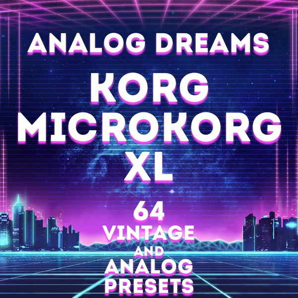 "Korg MicroKorg XL/XL+ ""Analog Dreams"" 64 Presets"