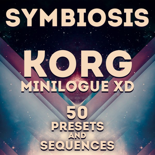 "Korg Minilogue XD - ""Symbiosis"" 50 Presets & 42 Sequences"