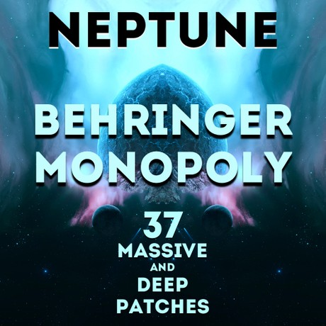 """Behringer MonoPoly - """"Neptune"""" 37 Patches"""