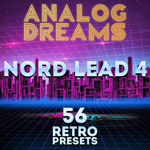 """Nord Lead 4 - """"Analog Dreams"""" 56 retro presets"""