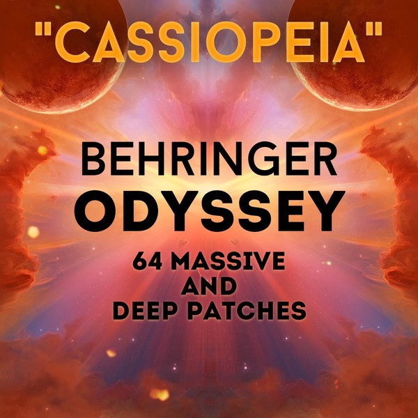 """Behringer Odyssey - """"Cassiopeia"""" 64 massive patches"""