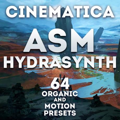 """Asm Hydrasynth - """"Cinematica"""" 64 presets"""
