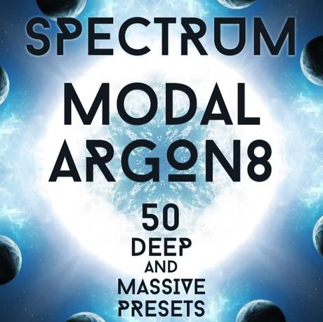"Modal Argon8 - ""Spectrum"" 50 massive presets"