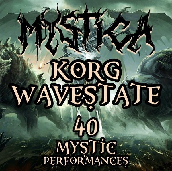 "Korg Wavestate - ""Mystica"" 40 performances"