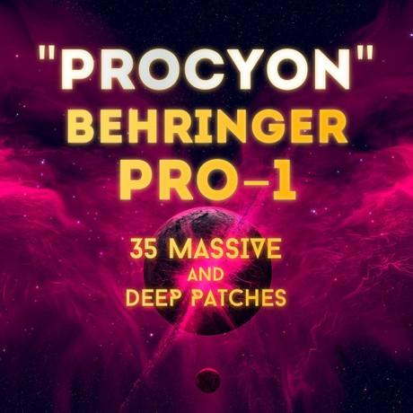 """Behringer Pro-1 - """"Procyon"""" 35 massive patches"""