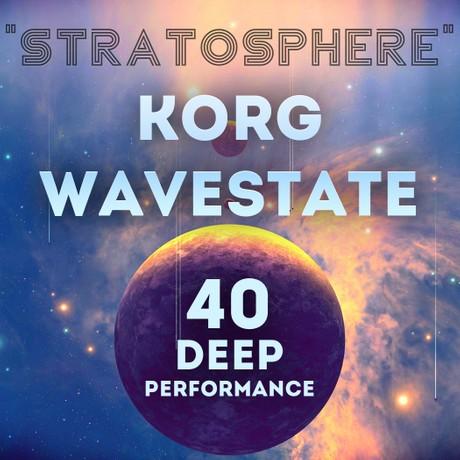 "Korg Wavestate - ""Stratosphere"" 40 Performance"