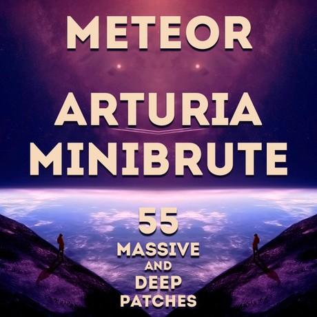 """Arturia Minibrute - """"Meteor"""" 55 massive patches"""
