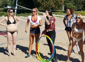 BABES Volleyball Season 2 sneak peak VIP photo set -  45 photos
