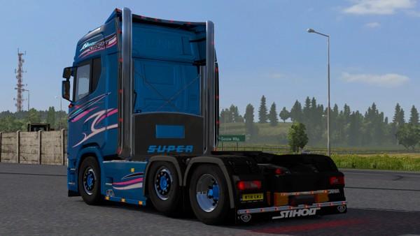 Scania S FlapBar