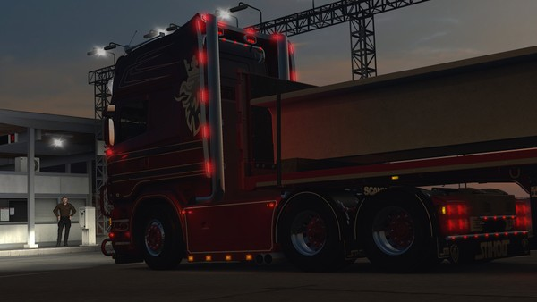 Scania RJL cut top stacks