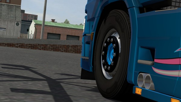Scania S Twin Pipes