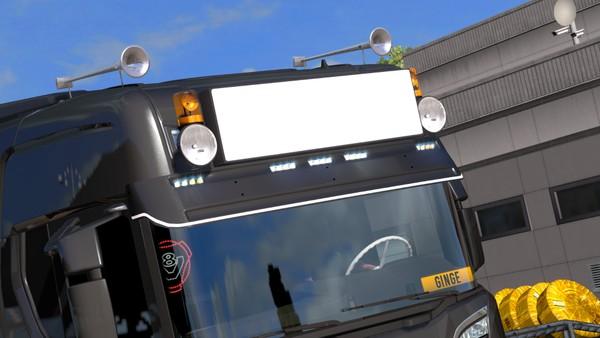 Scania S Series Skinable Lightbox