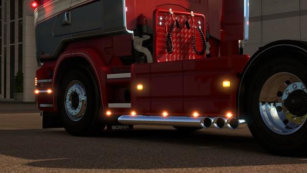 Scania RJL Triple exit