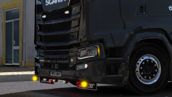 Scania S Series Bumper Slots