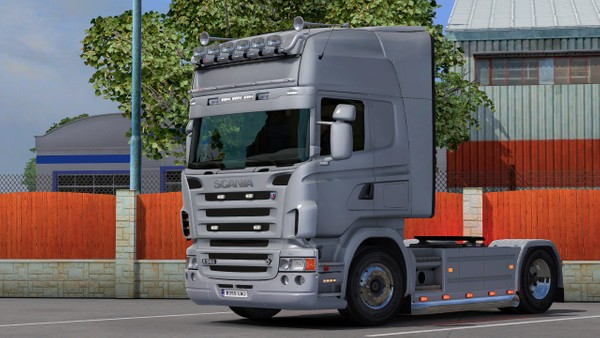 Scania RJL Bar and Sideipe
