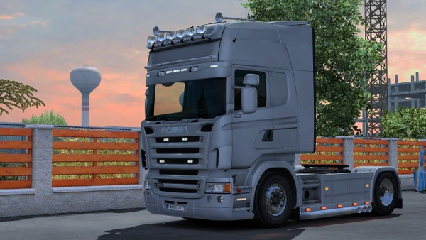 Scania RJL Triple Exit and Bar