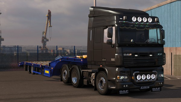 Daf XF 105 Single Tag
