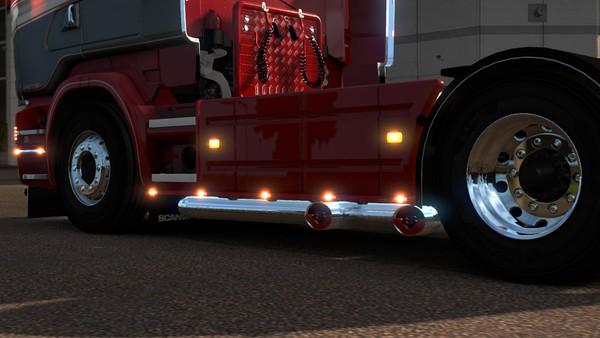 Scania RJL Duel V8 Exit