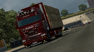 Scania RJL Hay transport