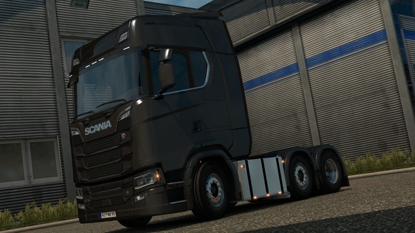 Scania S & R series Square Tanks + sidepipe