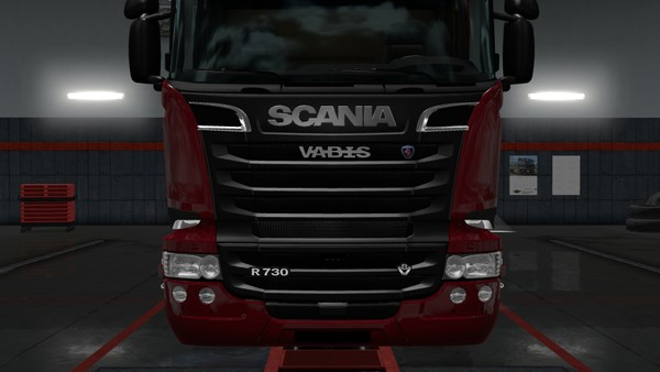 Scania RJL Vabis badge