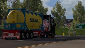 Scania RJL LED V8 Stack pipes