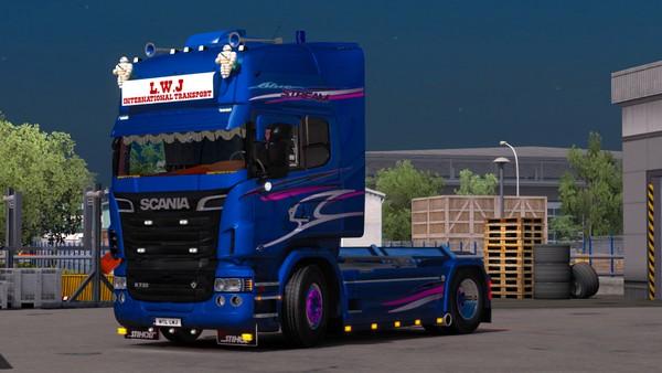 Scania RJL Sidebar with Sidepipe!