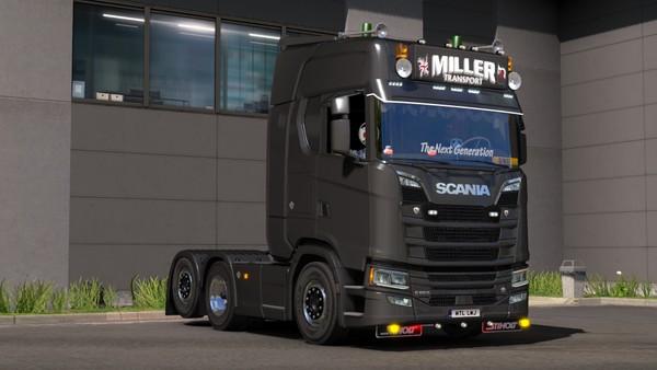 Scania S Series Single Tag
