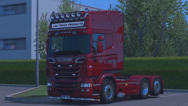 Scania Greek Exhausts