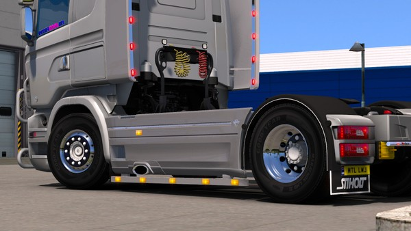 Scania RJL Sidepipe and Bar (4x2)
