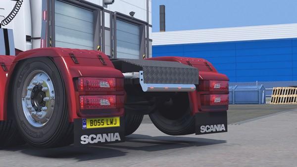 Scania RJL Straight ChassisBar