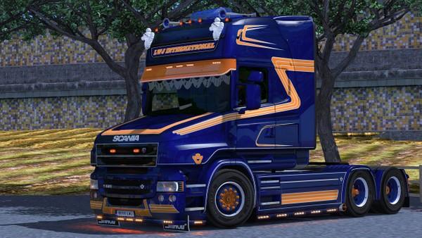 Scania T Sidebar LED