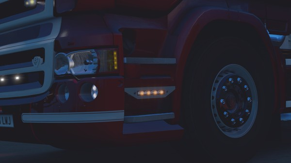 Scania RJL Step Infill