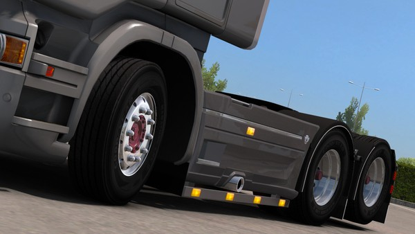 Scania RJL Sidepipe and Bar