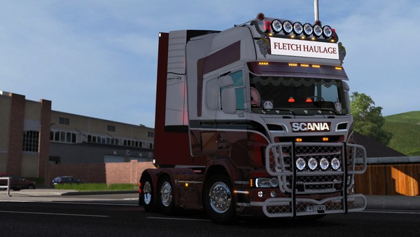 Scania RJL Stepbar