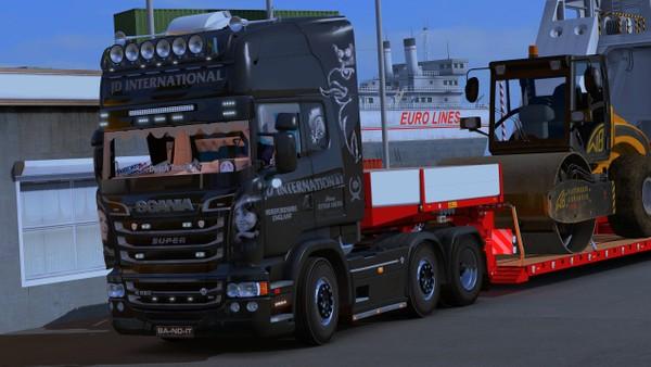 Scania RJL Sidebars