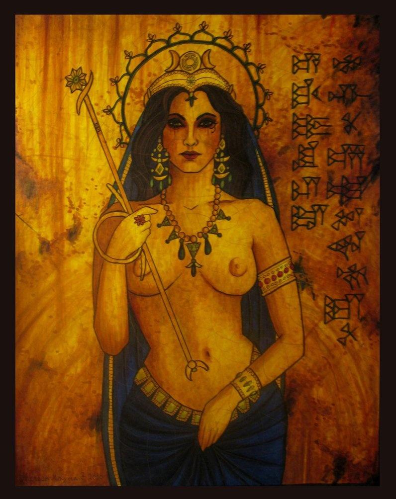 Photo naked female gods