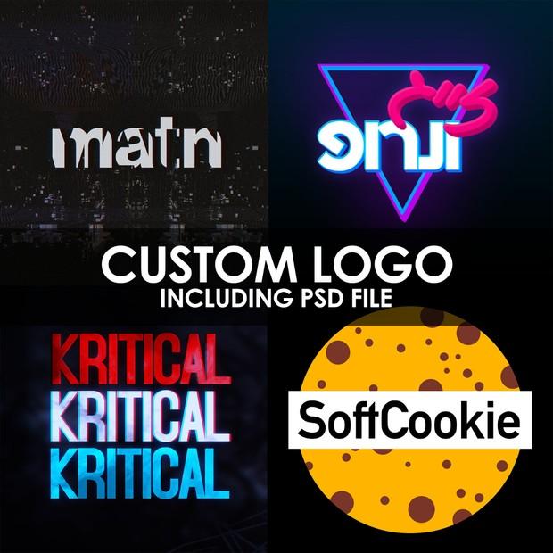 Custom Logo (Including PSD File)