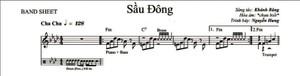 Sau Dong - Nguyen Hung - Fm Band sheet