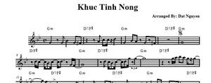 Khuc Tinh Nong - Ngoc Son